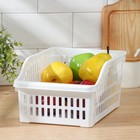 Корзина для продуктов в холодильник, цвет МИКС - Фото 3