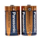 Батарейка алкалиновая Panasonic Alkaline Power, C, LR14-2BL, 1.5В, блистер, 2 шт. - Фото 2