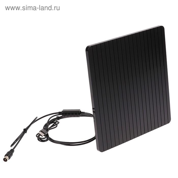 Антенна LUMAX DA1205A, комнатная, активная, 16 дБ, 5В, DVB-T2, цифровая