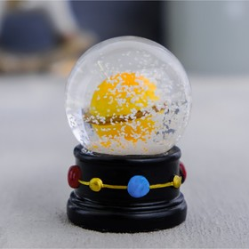 Снежный шар «Космос», 6,5х5см Ош