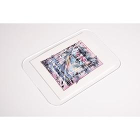 Планшет для пленэра, оргстекло, 15 x 22 см, под А5, толщина 3 мм