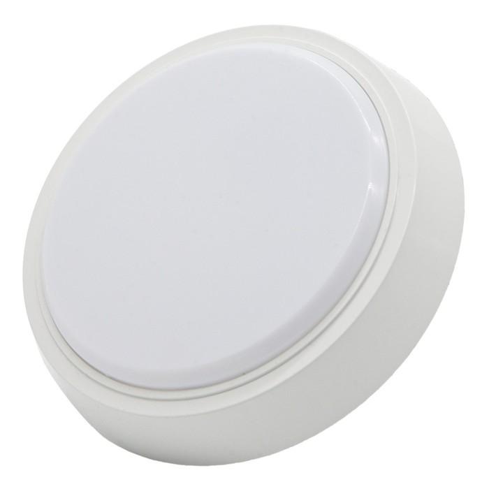 Cветодиодный светильник ЖКХ GLANZEN, 8 Вт, 600 Лм, 4000 К, IP40, RPD-0001-08-mat круг