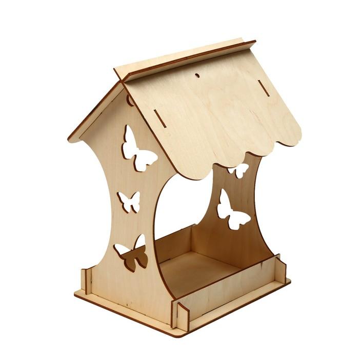 Kopмушка для птиц «Бабочка», 15 × 16 × 24 см, Greengo