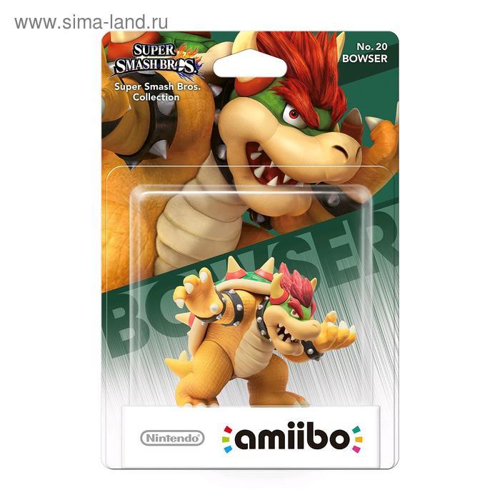 Интерактивная фигурка Amiibo, Боузер (коллекция Super Smash Bros.)