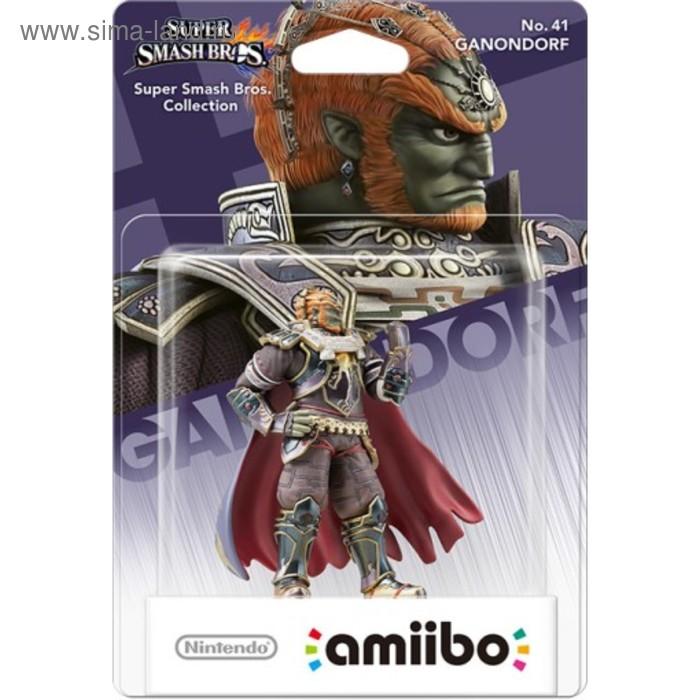 Интерактивная фигурка Amiibo, Ганондорф (коллекция Super Smash Bros.)