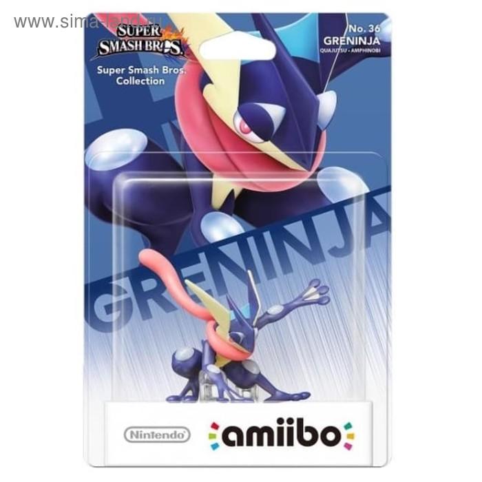 Интерактивная фигурка Amiibo, Грениндзя (коллекция Super Smash Bros.)