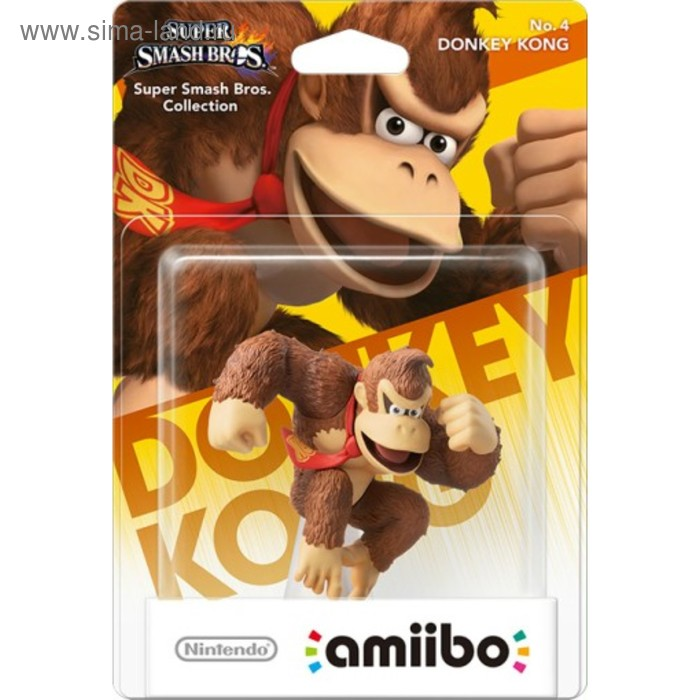 Интерактивная фигурка Amiibo, Донки Конг (коллекция Super Smash Bros.)