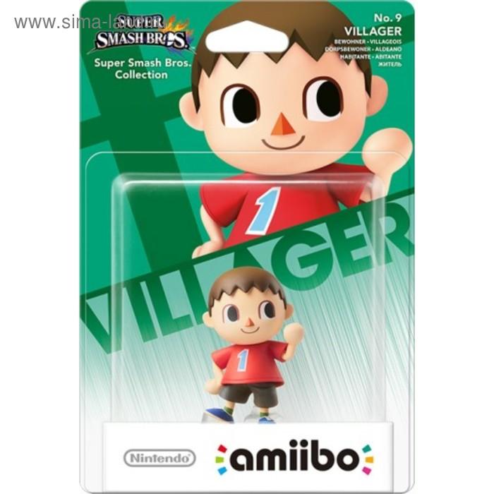 Интерактивная фигурка Amiibo, Житель (коллекция Super Smash Bros.)