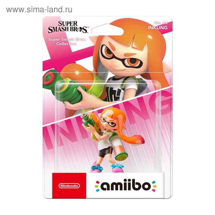 Интерактивная фигурка Amiibo, Инклинг (коллекция Super Smash Bros.)