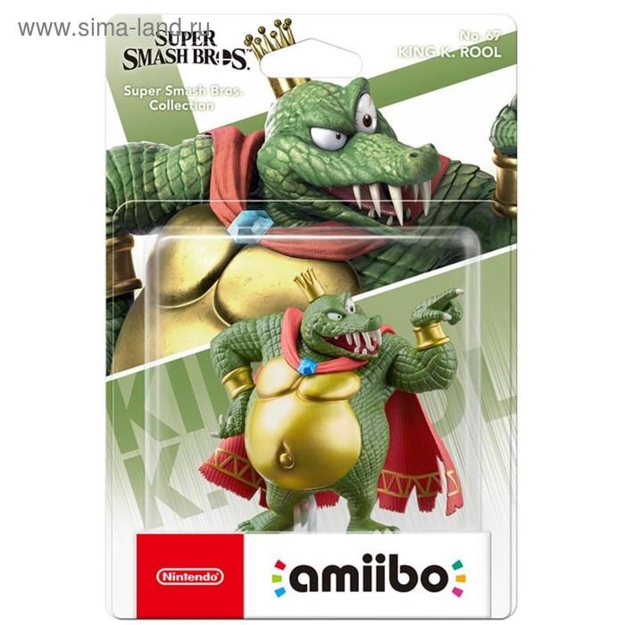 Интерактивная фигурка Amiibo, Кинг К. Роль (коллекция Super Smash Bros.)