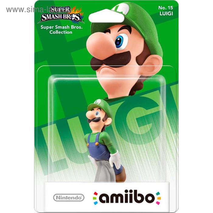 Интерактивная фигурка Amiibo, Луиджи (коллекция Super Smash Bros.)