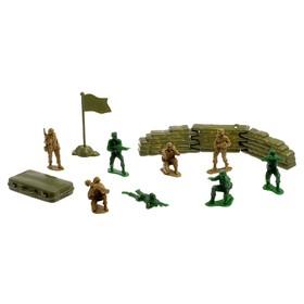 Набор солдатиков «Антанта», 13 предметов Ош