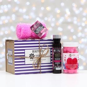 Подарочный набор с органической косметикой на 14 февраля для ванн Ош
