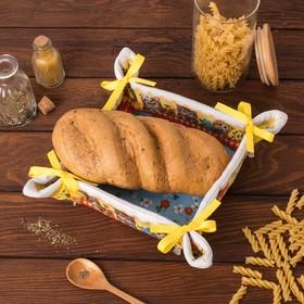 Хлебница 'Доляна' Котята 30*30 см, 100% хлопок, рогожка 162 г/м2 Ош