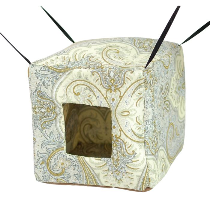 """Гамак для хорьков """"Куб"""", 26 х 26 х 2 см, микс цветов"""