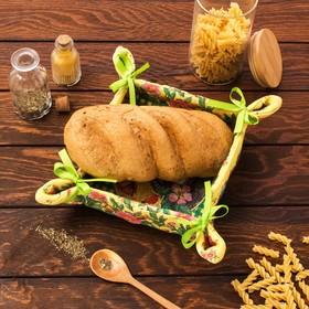 Хлебница 'Доляна' Мёд 30*30 см, 100% хлопок, рогожка 162 г/м2 Ош