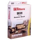 Мешки пылесборники Filtero SIE 01 Эконом 4 шт., для BOSCH, SIEMENS, бумажные