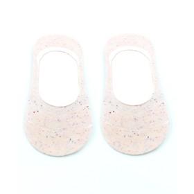 Носки-невидимки женские, цвет персиковый меланж, размер 23-25 (36-40)