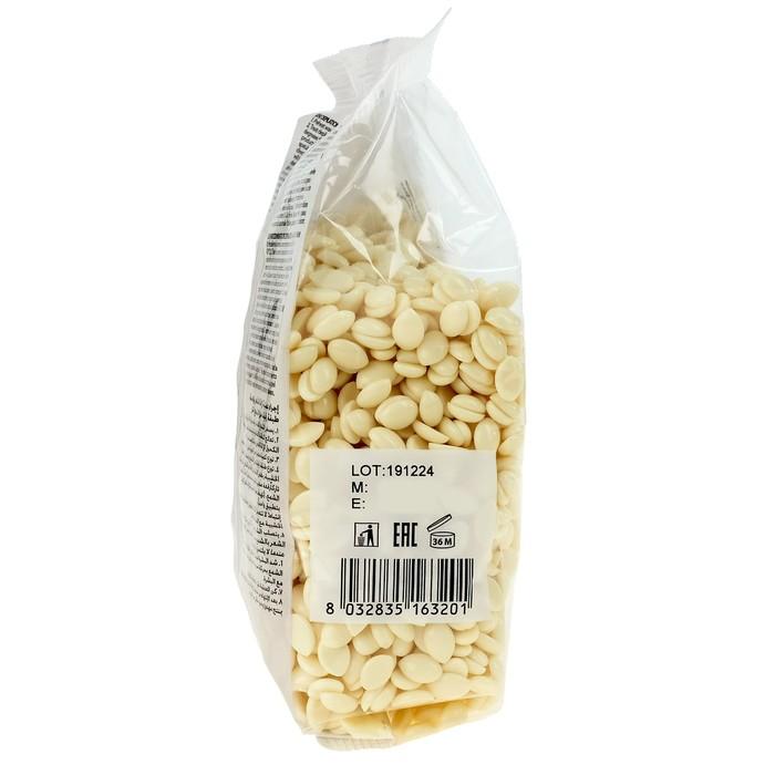 """Воск горячий (пленочный) ItalWax """"Белый шоколад"""" гранулы 0,5 кг"""
