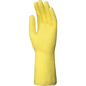 Перчатки латексные DOG L038 с хлопковым напылением, размер 7 (S) Ош