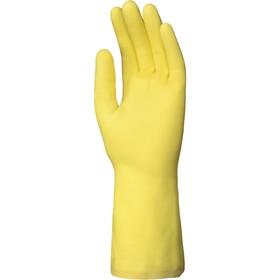 Перчатки латексные DOG L038 с хлопковым напылением, размер 8 (M)
