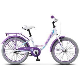 "Велосипед 20"" Stels Pilot-250 Lady, V010, цвет белый, размер 12"""