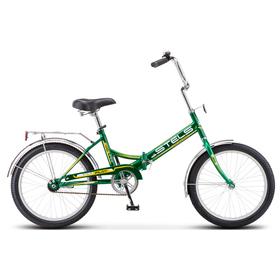 Велосипед 20' Stels Pilot-410, Z011, цвет зелёный/жёлтый, размер 13,5' Ош