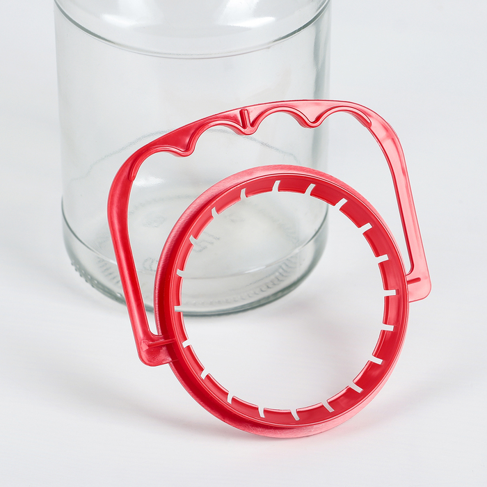 Ручка для стеклянных банок, d = 82 мм, цвет МИКС