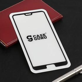 Защитное стекло CaseGuru для Huawei P20 Pro, 0.33 мм, черное