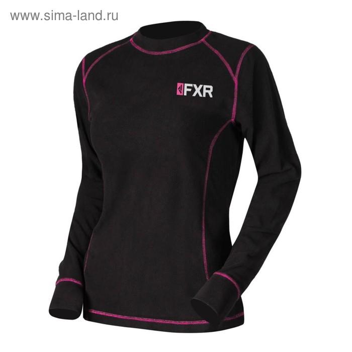 Термокофта FXR Pyro Thermal, размер L, чёрный, фиолетовый