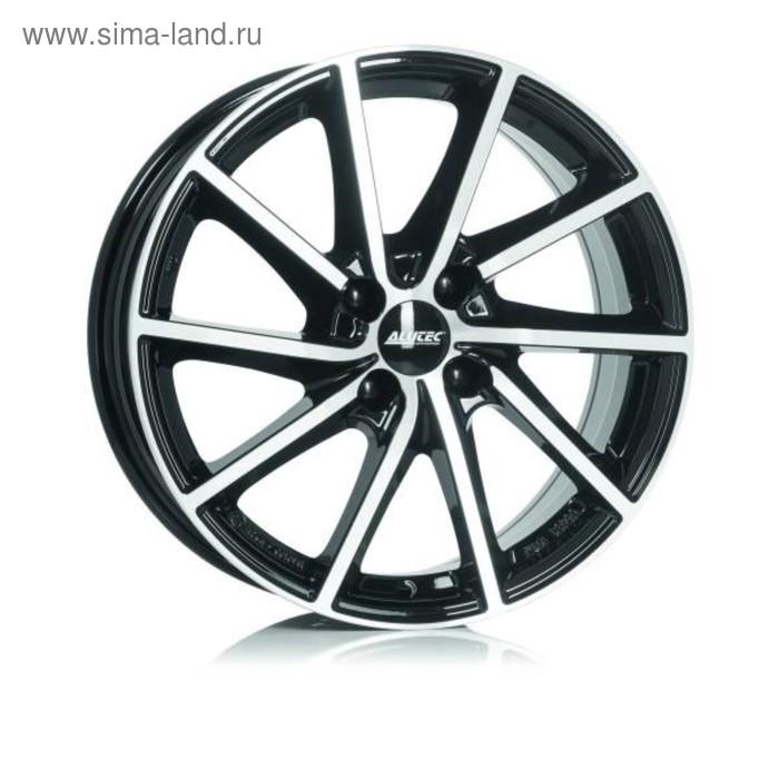 Диск литой Alutec Singa 7.5x18 5x114.3 ET55 d67.1 Diamond Black Front Polished