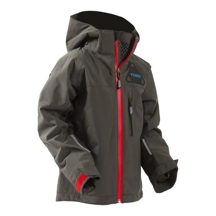 Куртка детская Tobe Novus без утеплителя, размер 128, серый