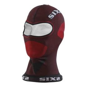 Балаклава SIXS DBX, размер универсальный, красный