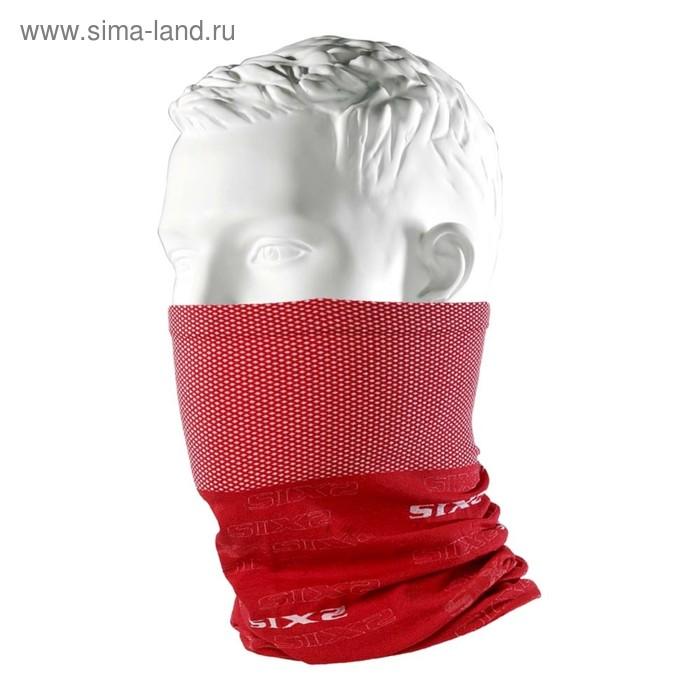 Бандана-труба SIXS TBX многофункциональный, красный