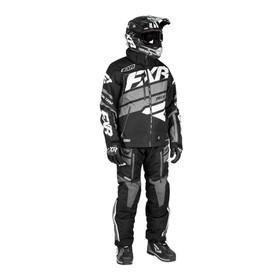 Костюм FXR Boost без утеплителя, размерXL, чёрный, серый Ош