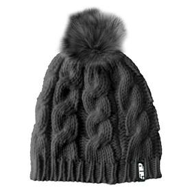 Шапка 509 Fur Pom, серый Ош