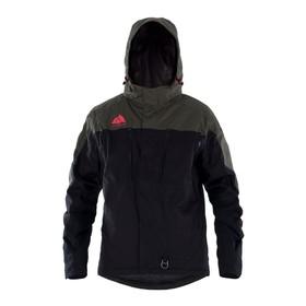 Куртка Jethwear Alaska с утеплителем, размер 2XL, чёрный, коричневый Ош