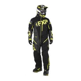 Комбинезон FXR Ranger Instinct без утеплителя, размер 3XL, чёрный, серый, жёлтый Ош