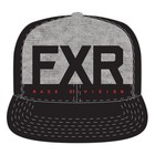 Бейсболка FXR Helium, чёрный, серый