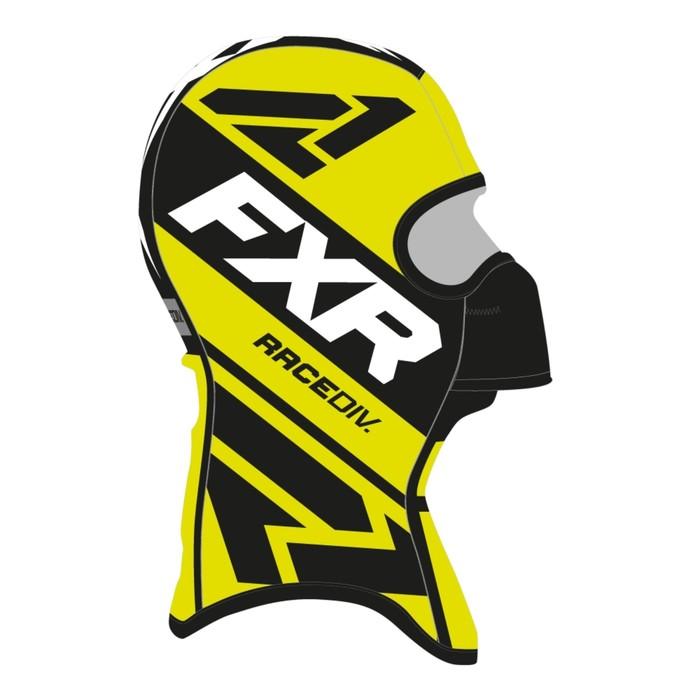 Балаклава FXR Cold Stop RR, размер S, чёрный, жёлтый