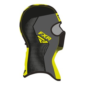 Балаклава FXR Shredder Tech, размер L, чёрный, серый, жёлтый Ош
