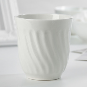 Стакан «Бриз. Бельё», 200 мл, цвет белый