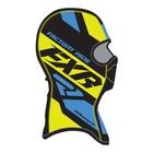Балаклава FXR Boost, размер универсальный, чёрный, жёлтый, синий
