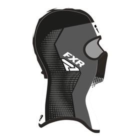 Балаклава FXR Shredder Tech, размер L, чёрный, серый, белый