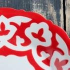 Тарелка 160 код 1003 Пахта красная 16см - Фото 3