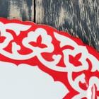 Тарелка овальная 290 код 3003 Пахта красная 29см - Фото 3