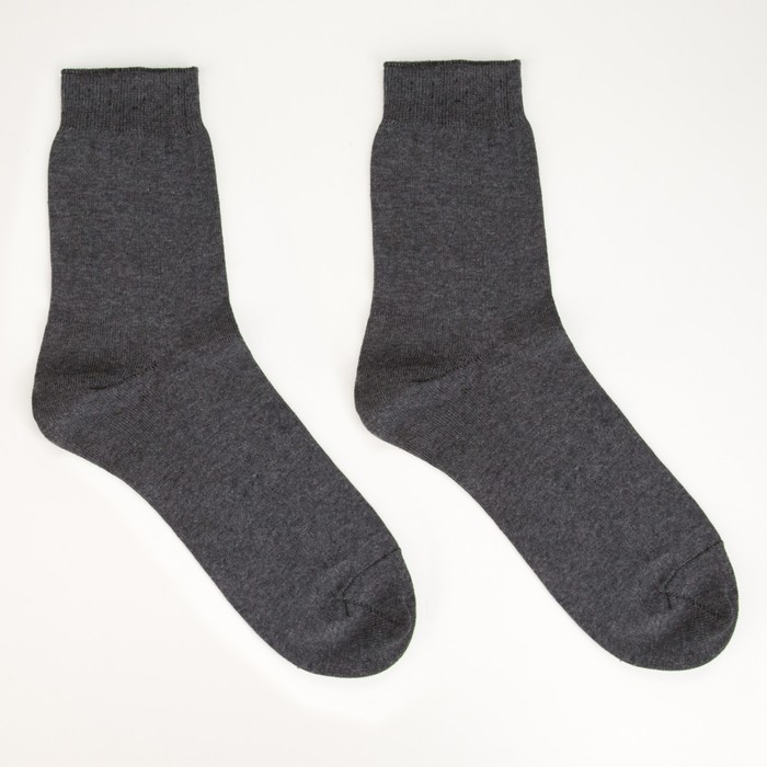 Носки мужские ПИЛОТ, цвет асфальт, размер 31