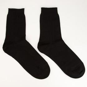 Носки мужские ПИЛОТ, цвет чёрный, размер 27 Ош