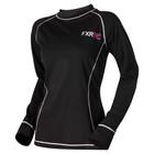 Лонгслив FXR Ride Co., размер XS, чёрный, розовый