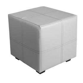 Пуф квадратный Марио 400х400х380 Белый Ош